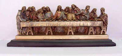 Veronese Last Supper Statue Last Supper statue by ...