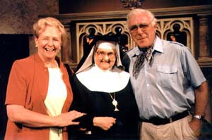 Paddy Nolan with Mother Angelica founder of EWTN