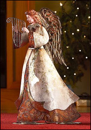 Capiz Angel Figurine