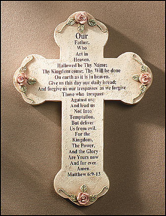 Lord S Prayer Cross