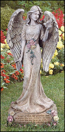 Angel Of God Garden Angel Garden Statuary