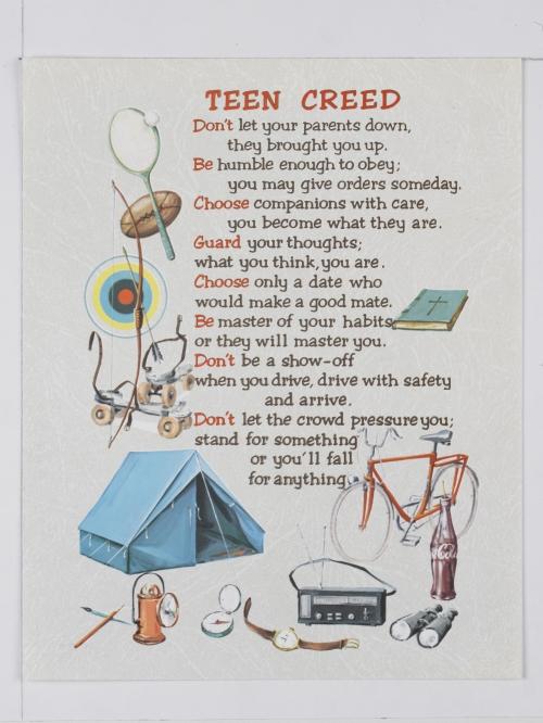 The Teen Creed 88