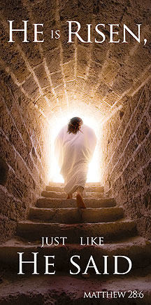He is Risen Easter Ban...
