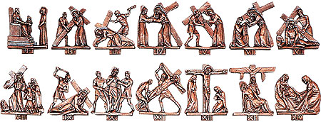Stations Of The Cross Figures