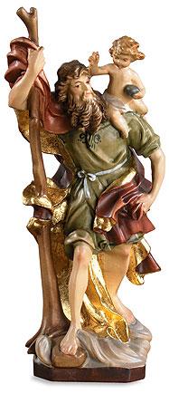 8 Quot Saint Christopher Wood Statue