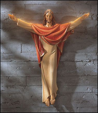 48 Quot Risen Christ Corpus Statue