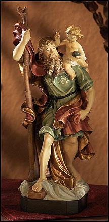 4 Quot St Christopher Statue
