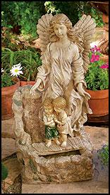Guardian Angel Water Fountain