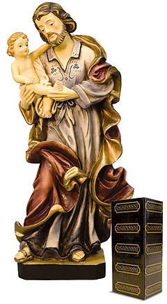 4 Quot St Joseph And Child Stat Digiovanni Catholic Statues