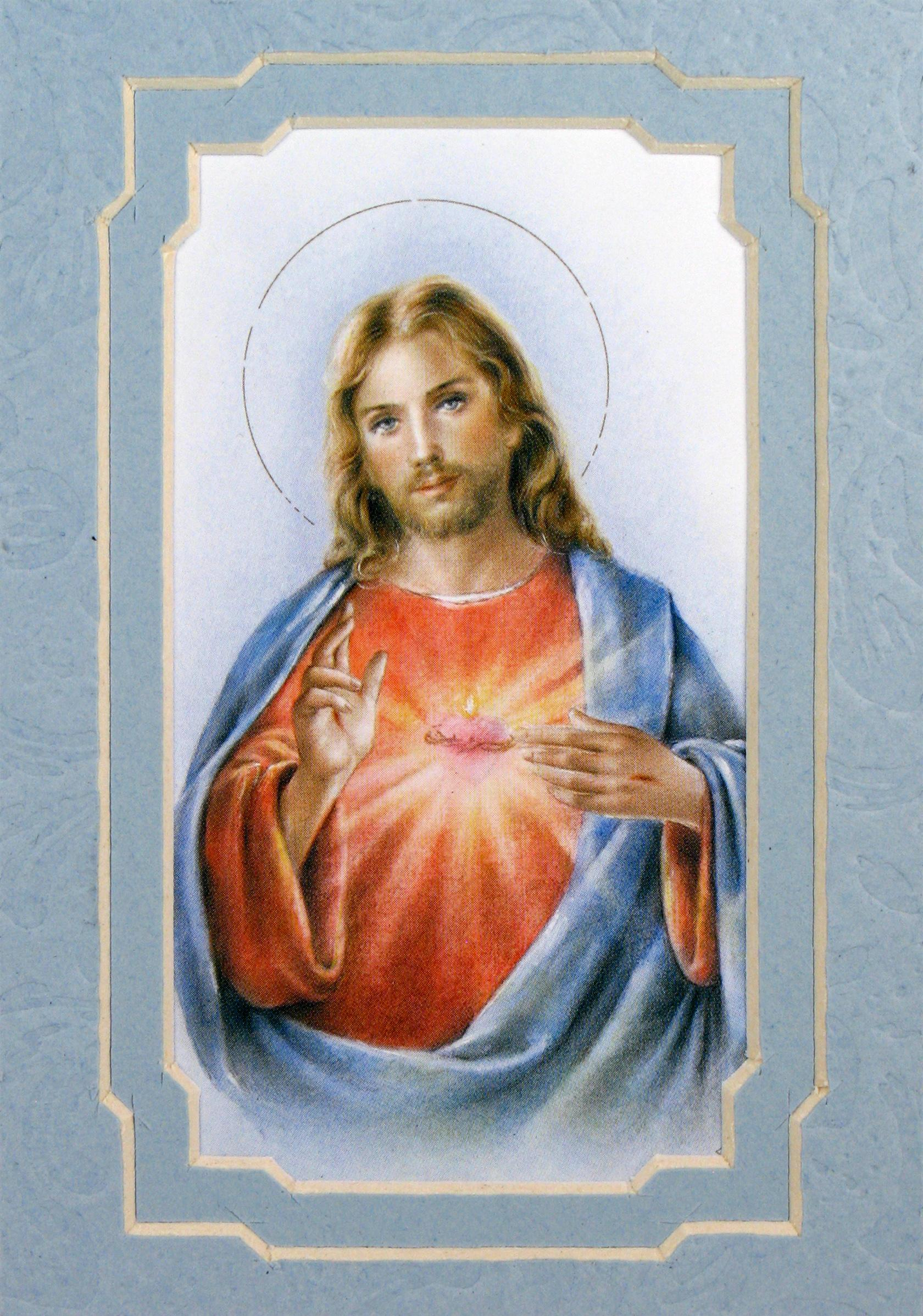 Sacred Heart Of Jesus 3x5 Prayerful Mat