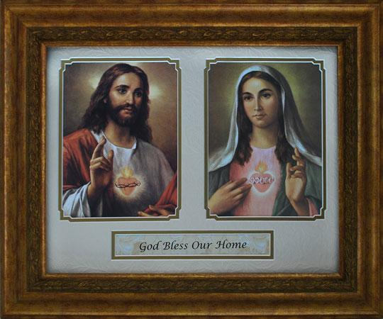 God Bless Our Home 14x17 Plaque