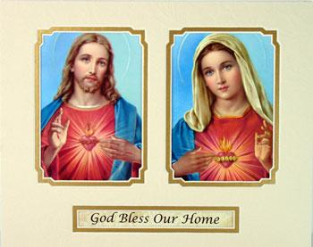 Fabulous God Bless Our Home 8x10 Ready to frame mat TC29