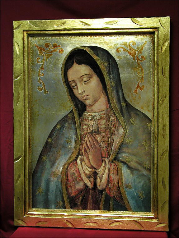 Guadalupe Statues, Candles, Plates, Fonts and Ceramics, Plaques