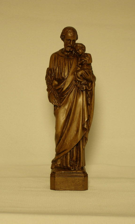 I 281 St Joseph And Child Statue