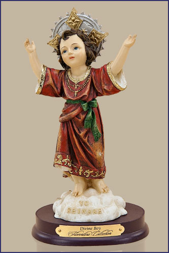 20 Lbs In A Month: Child Jesus Statues