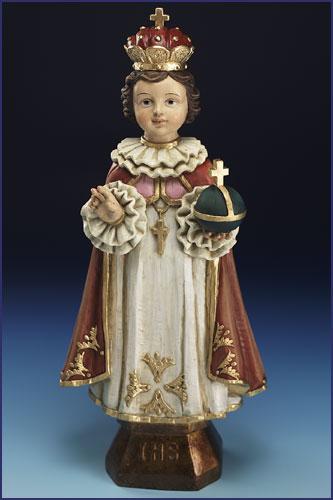 Child Jesus Statues Infant Of Prague Divino Ni 241 O