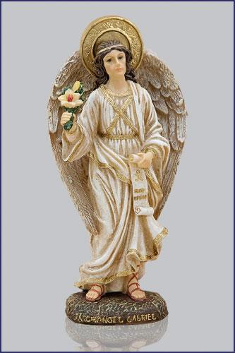 """Gabriel Angel Statues 4"""" ARCHANGEL GABR..."""