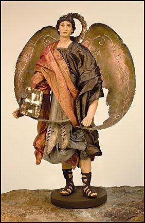 Archangel St Uriel Statue