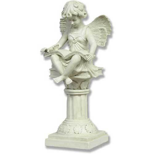 Reading fairy medium 16 Reading fairy garden statue