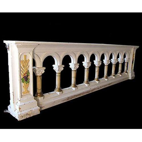 Catholic Altars For Sale: CHURCH RAILING