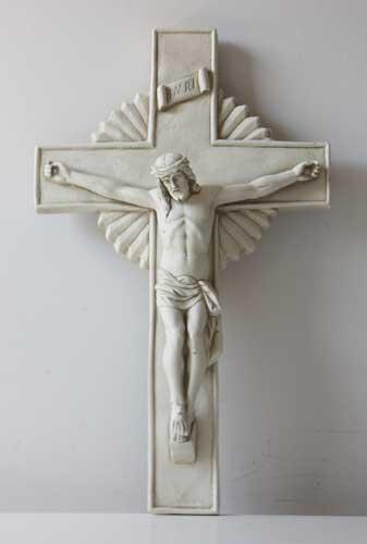 Corpus on cross 20 catholic religious statues - Exterior church crosses for sale ...