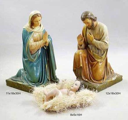 Jesus Mary And Joseph 30 Quot With Baby Jesus Nativity Scene