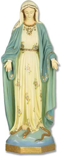 Our Lady Of Grace F.C. 25 Statue
