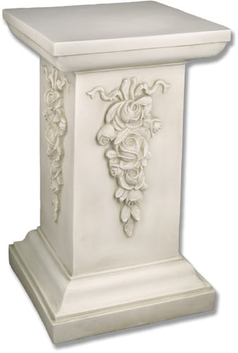 Decorative Square Pedestal Catholic Religious Statues