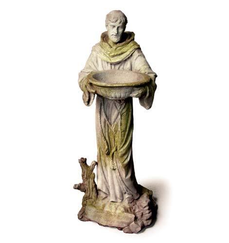 Saint Francis With Bowl Catholic Religious Statues