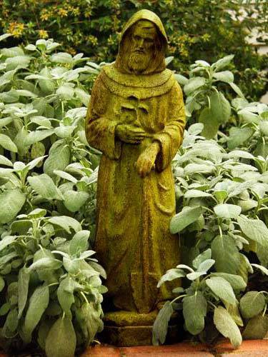 Saint Fiacre 25 Inch Statue Religious Statues Of Catholic Saints St Fiacre 25