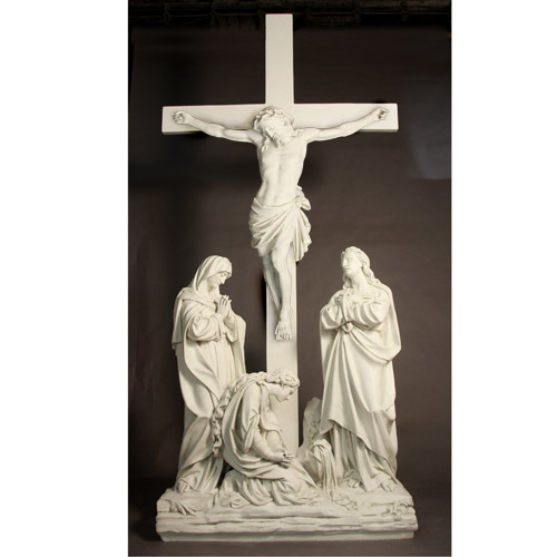 Jesus is crucified 12 station of the cross - Exterior church crosses for sale ...