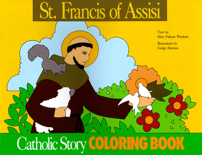 St. Francis of Assisi Coloring Book
