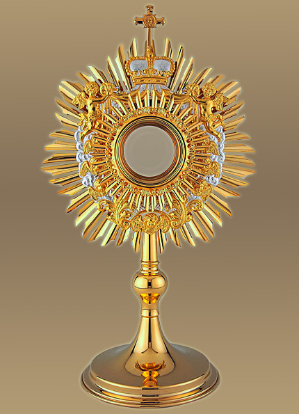 The Baroque Angel Monstrance