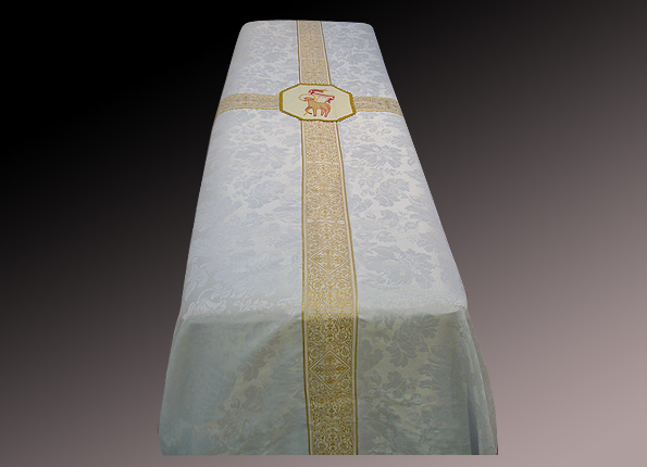 Funeral Pall with Lamb of God Embroidery