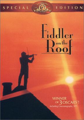 Fiddler On The Roof Dvd